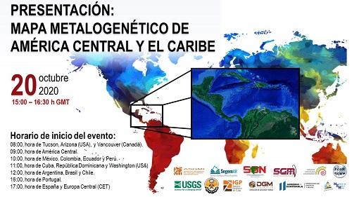 Asgmi Vai Apresentar O Mapa Metalogenetico Da America Central E Do Caribe