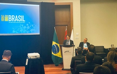 Secretary Alexandre Vidigal also spoke about the partnership signed between CPRM and Petrobras that will boost RD&I research projects in the mining sector