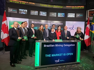 CPRM Director Márcio José Remédio was at the opening of TSX